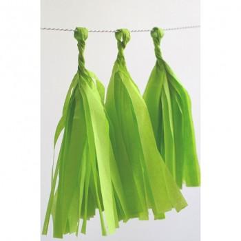 Rojt girland citrus zöld