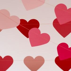 szívgirland, ombre pink