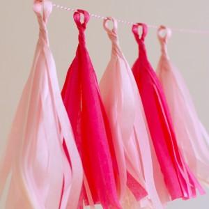 rojtos girland, pink mix