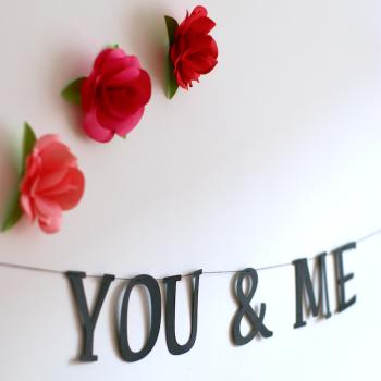 Felirat girland - You&Me