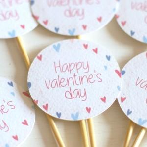 Valentin-nap sütidekor